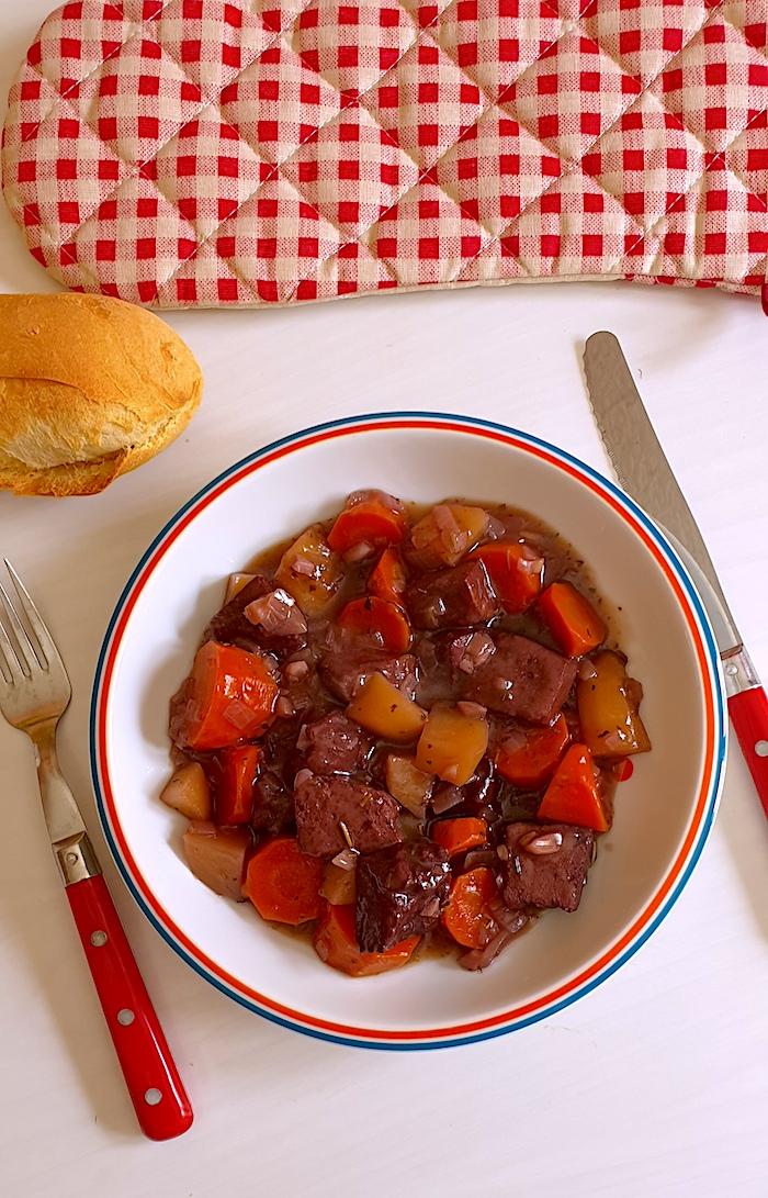 Vegan Beef Bourguignon