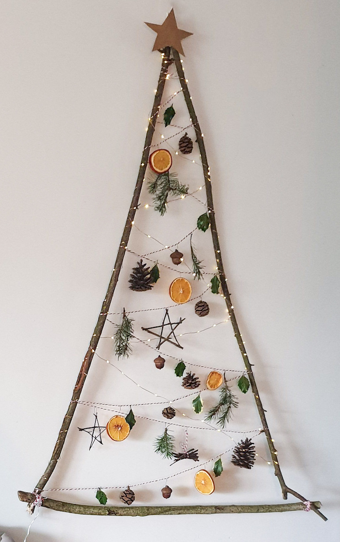 The easiest DIY zero-waste Christmas tree